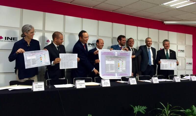Los consejeros electorales del INE ofreció una conferencia de prensa para dar detalles de los comicios del 5 de junio.