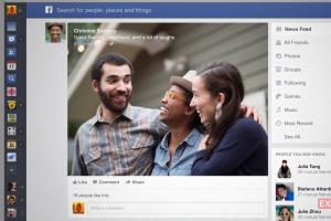 Facebook reordenará sus historias_AFP