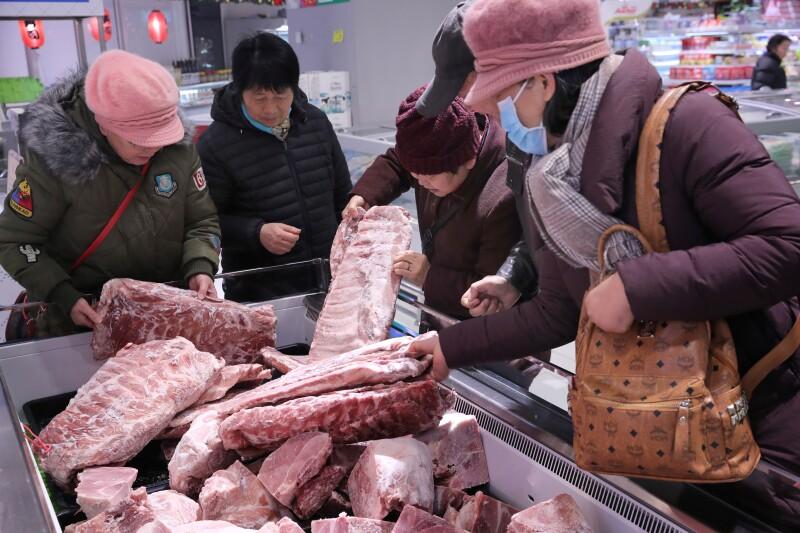 Carne de cerdo Estados Unidos China