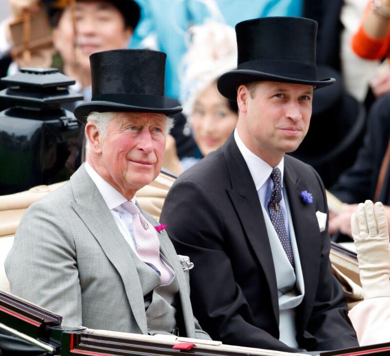 Príncipe Carlos y el príncipe William