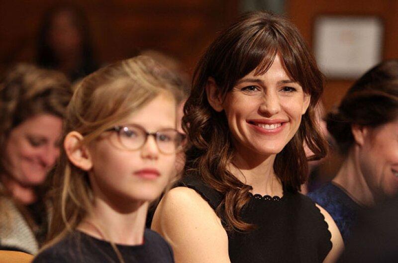 Violet es la hija de Jennifer y Ben Affleck, y cada día se parece más a su madre.
