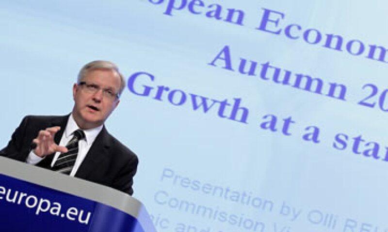 Olli Rehn, comisario de Asuntos Monetario y Económicos para la UE, instó a una rápida implementación de las formalidades restantes. (Foto: Reuters)