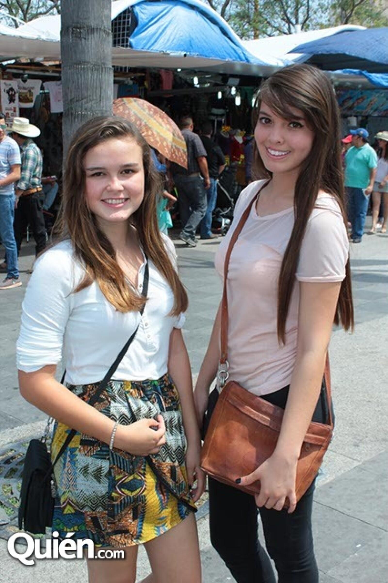 Luna García y Lizbeth Valtierra