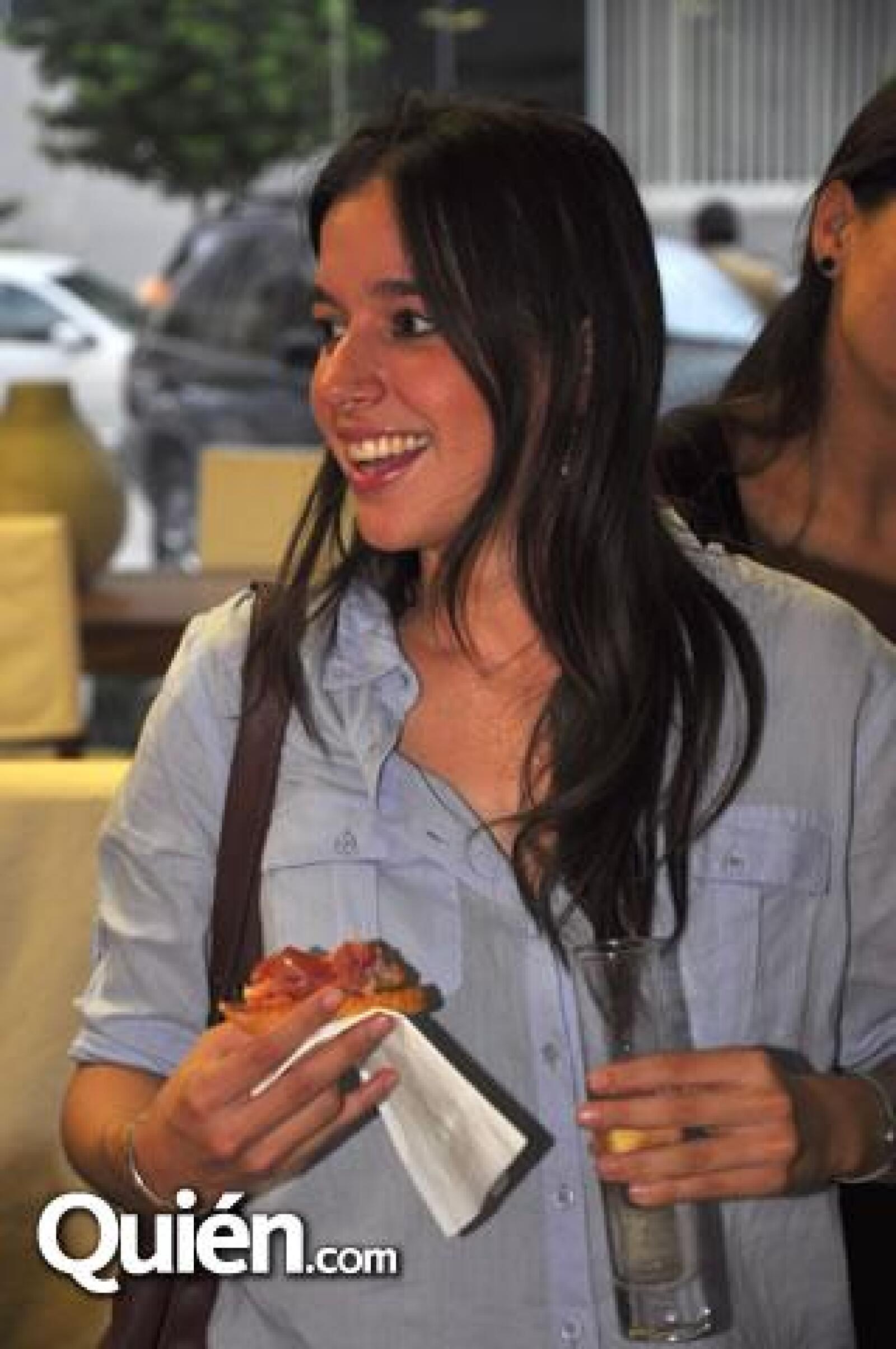 Lucia Velasco.
