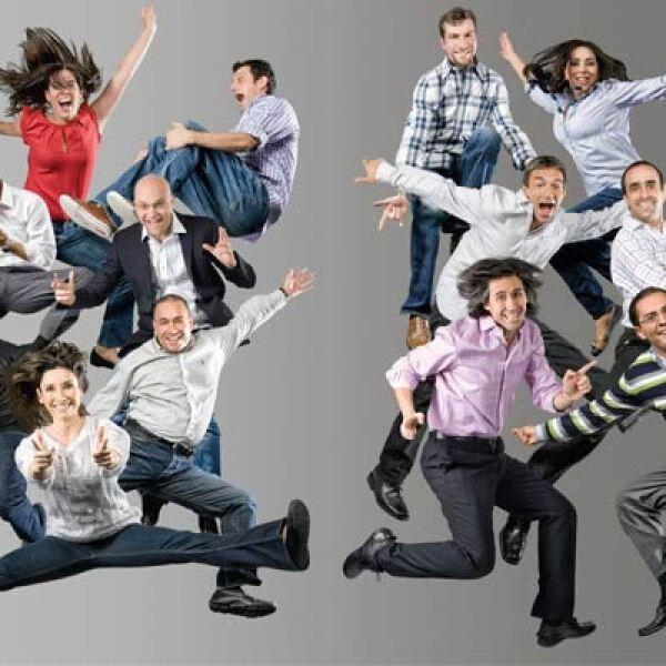Los 13 Monstruos de la Mercadotecnia 2011, posaron este año de una manera divertida y diferente: saltando en un trampolín. La dinámica se realizó en las oficinas de Grupo Expansión y fue todo un éxito.