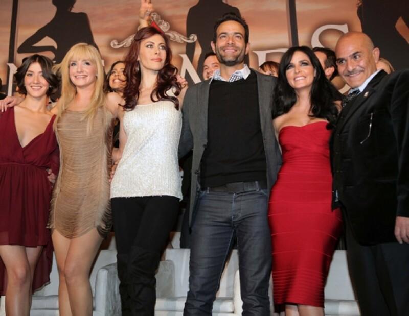 Elenco de la serie Infames, producida por Argos y que se transmitirá por Cadena Tres.