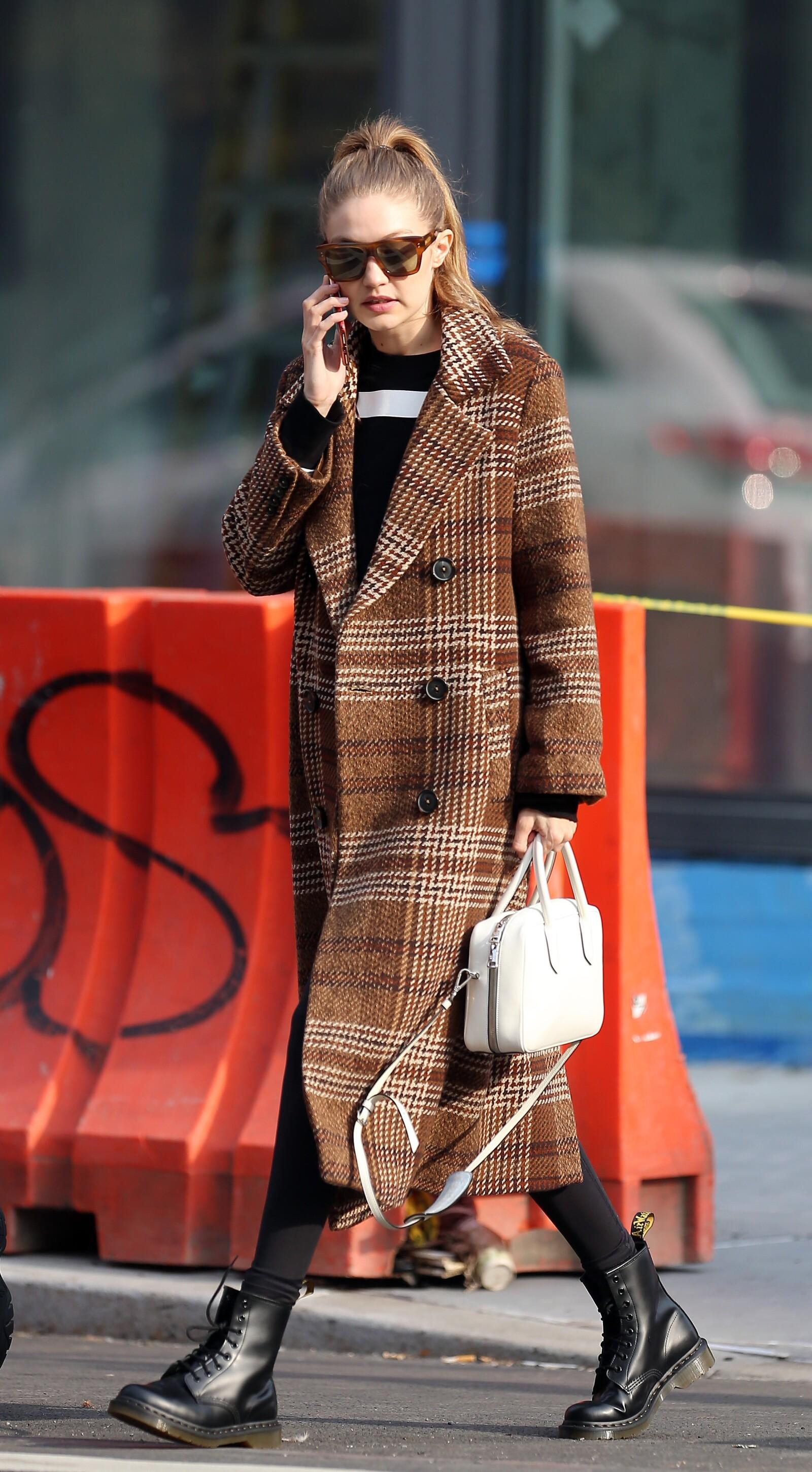 El look de otoño de Gigi Hadid