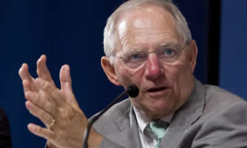 Schaeuble declinó hacer declaraciones sobre un posible conflicto entre Draghi y el presidente del Bundesbank. (Foto: AP)