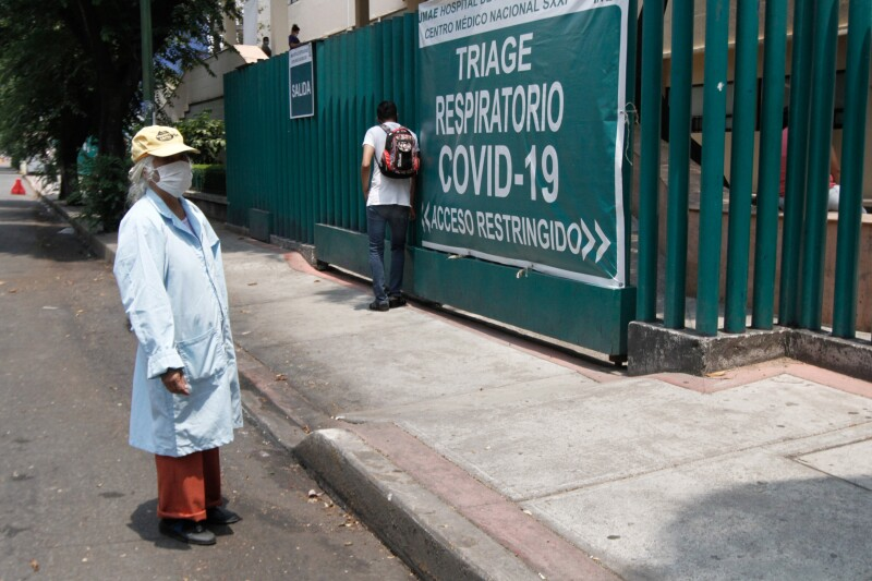 Gente durante la pandemia