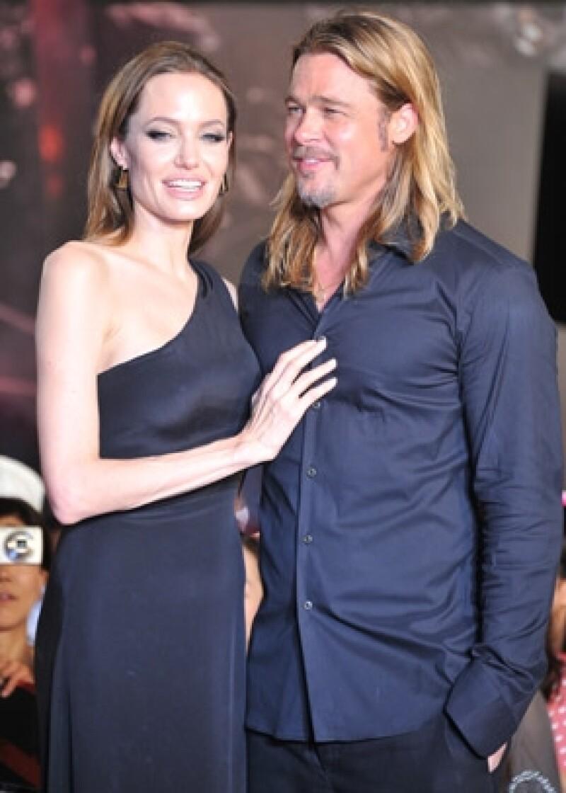 Brad y Angelina podrían casarse en su casa de Los Ángeles.