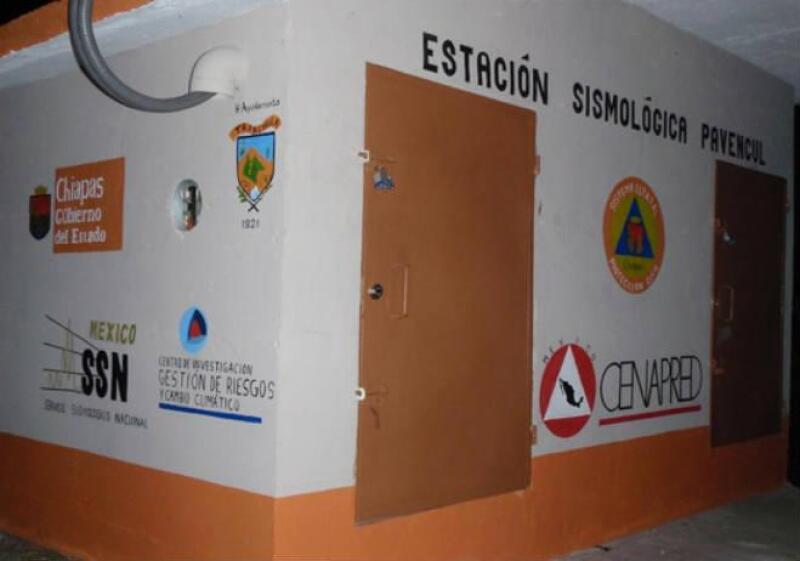 Instalaciones del servicio sismol�gico nacional