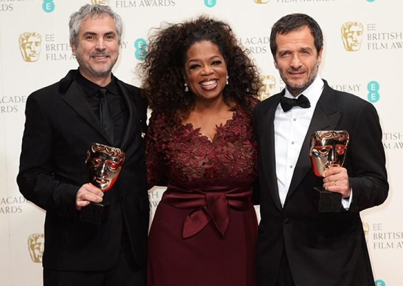 Estos son los ganadores de la 67 edición de los premios de la Academia Británica para las Artes del Cine y la Televisión (BAFTA) que se entregaron hoy en una ceremonia en Londres.