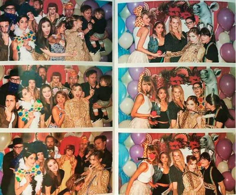 Famosas como Gigi Hadid, Jessica Alba, Nina Dobrev, Diane Kruger, Hailee Steinfeld, Sarah Hyland, Topher Grace, Selma Blair, Emma Roberts y Joey King se dieron cita en Soho House.