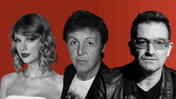 Es raro que las celebridades hagan públicas sus opiniones respecto a contratos de derechos de autor.