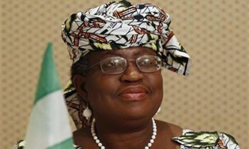 Okonjo-Iweala dijo que si EU y Europa se unen, su candidatura no tendrá posibilidades. (Foto: Reuters)