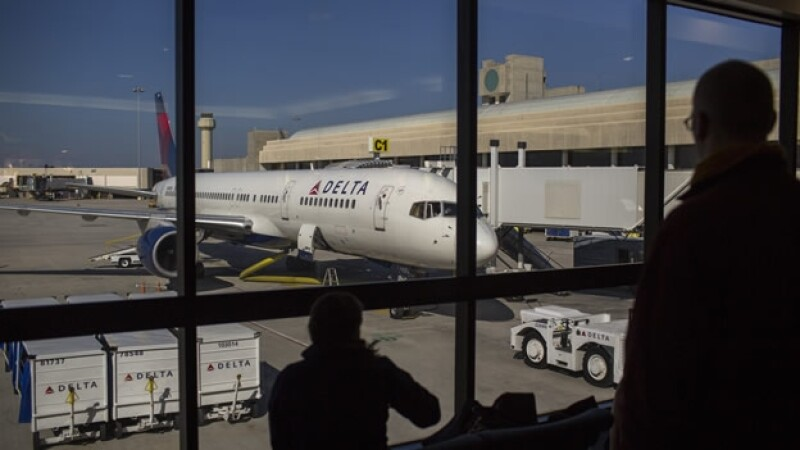 avion de delta airlines