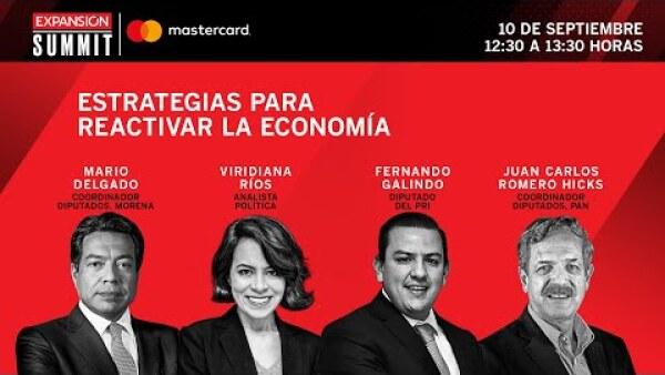 Estrategias para reactivar la economía | Expansión Summit 2020