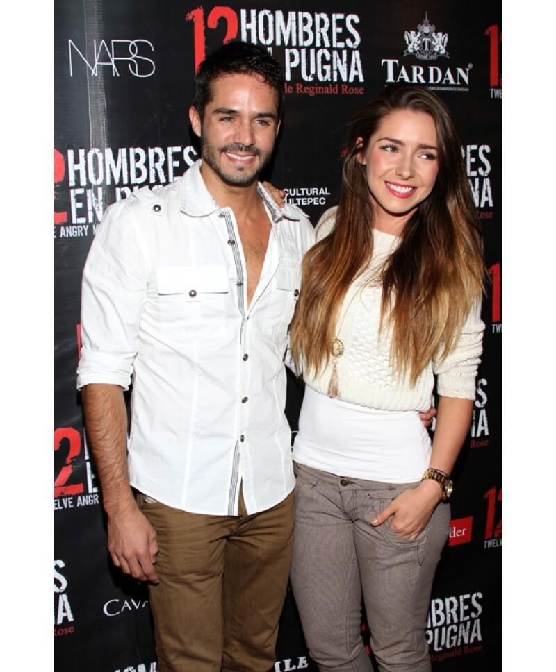 Los actores tapatíos se enamoraron gracias a la telenovela `La Mujer del Vendaval´.