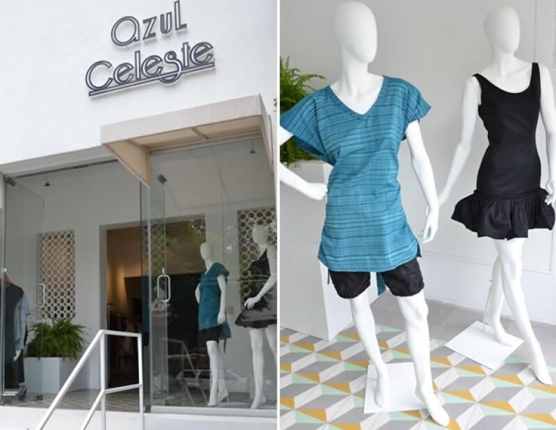 Esta guapa fashionista, mitad francesa mitad mexicana,  abrió una tienda de ropa en la perla tapatía, en la que predominan los diseños únicos y originales.