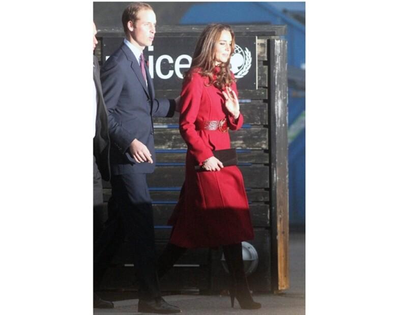 Kate y Guillermo visitaron un centro de distribución de UNICEF, lugar donde se desató el rumor.