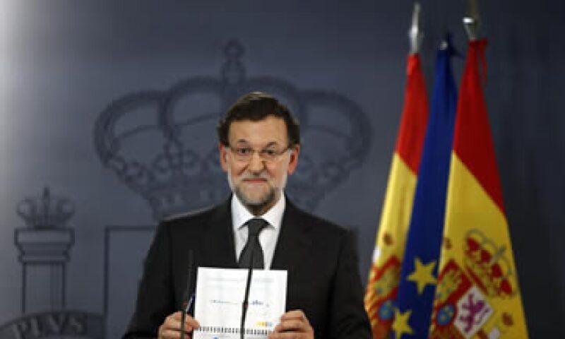 Mariano Rajoy aseguró que lo peor ya pasó para España. (Foto: Reuters)