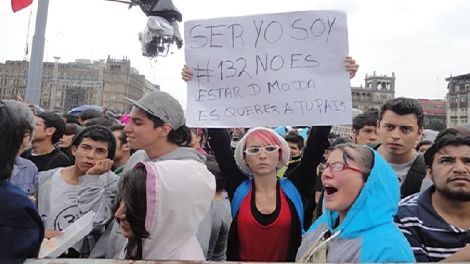 Artistas apoyan al movimiento Yosoy132
