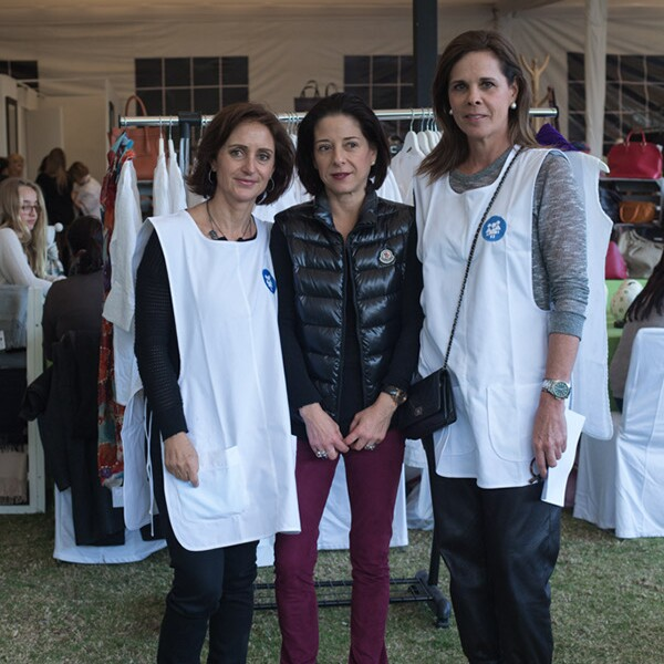 Gabriela Rivero, Joaquina Saldivar y Ana Paula de Haro