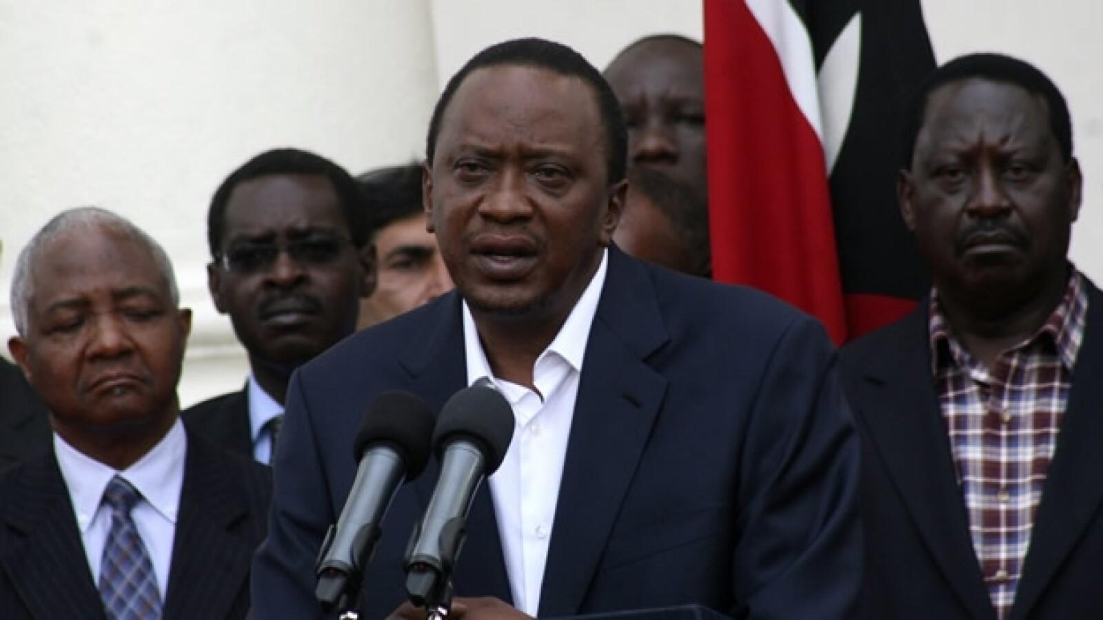 presidente de kenia