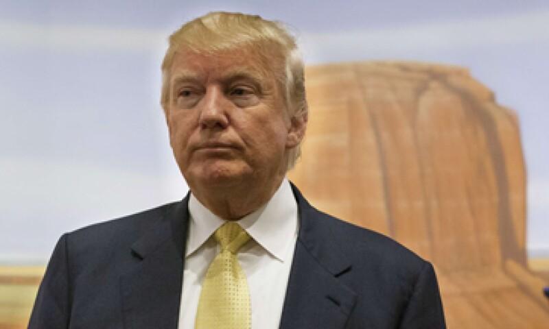 Donald Trump aspira a ser candidato a la presidencia de Estados Unidos. (Foto: Reuters )