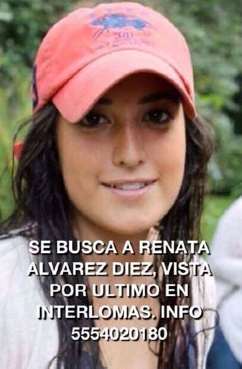 Los padres de Renata Álvarez se valieron de las redes sociales para comenzar su búsqueda y de inmediato recibieron el apoyo de personalidades como Marcelo Ebrard y Joaquín López Dóriga, entre otros.
