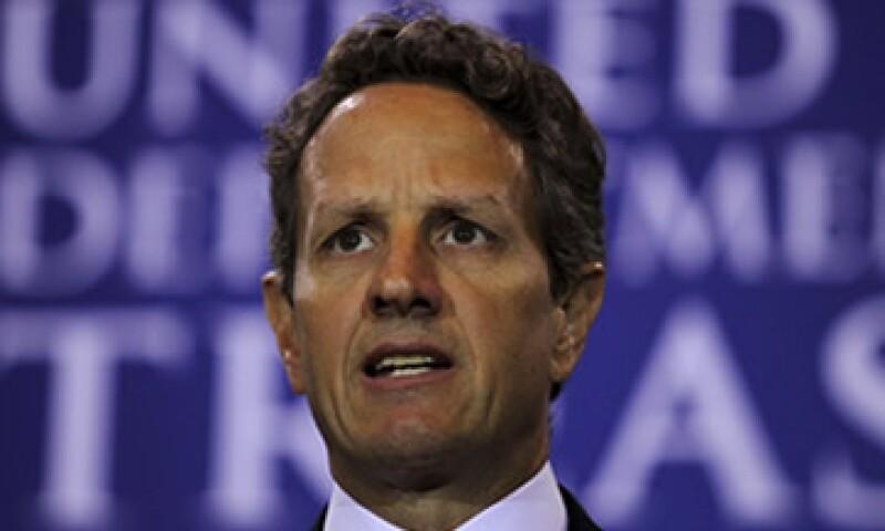 """""""La política fiscal en todos lados debe guiarse por el imperativo del crecimiento"""", dijo Tim Geithner. (Foto: Reuters)"""