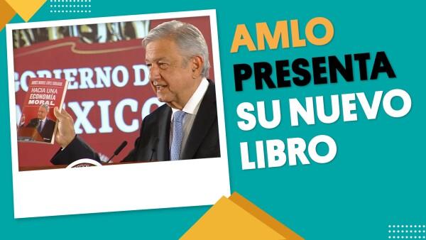 AMLO presenta su nuevo libro | #EnSegundos