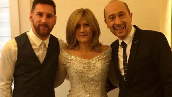 Lionel Messi, Celia Cuccittini, Claudio Cosano