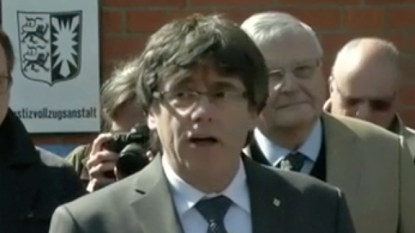 Alemania deja en libertad a Carles Puigdemont