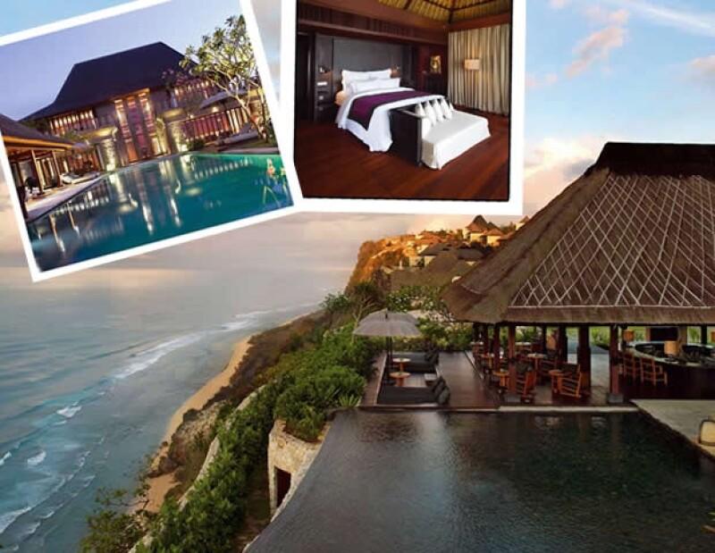 El hotel ofrece una bella vista al Oceano Índico.