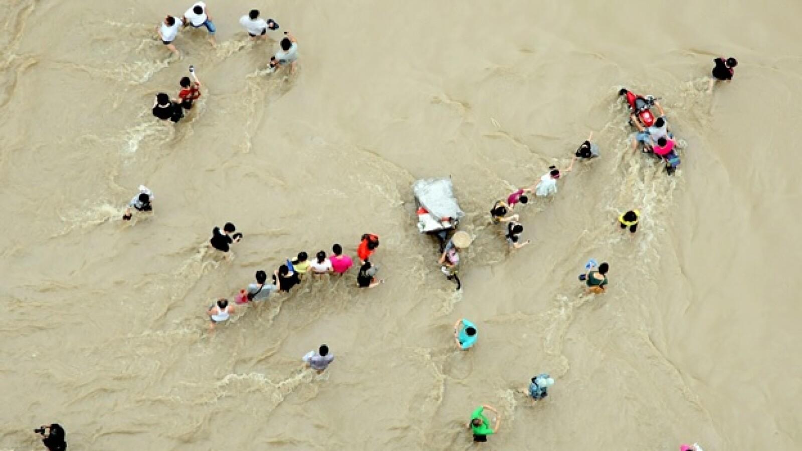 China - inundaciones