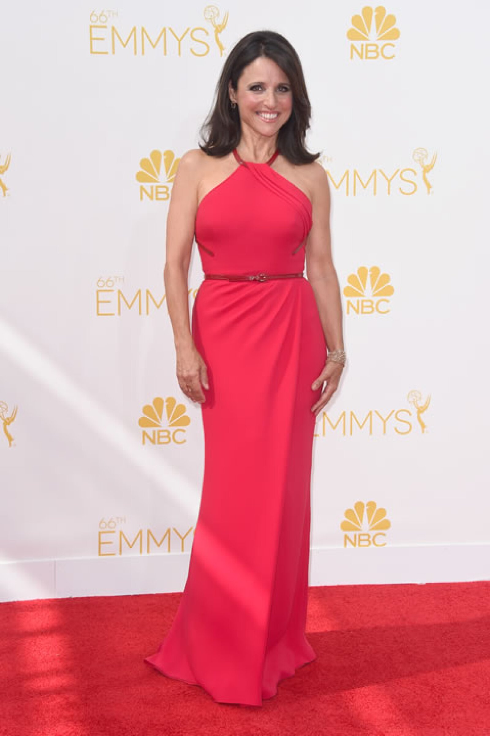 Julia Louis-Dreyfus en Carolina Herrera