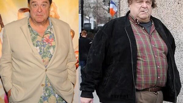 John Goodman ya no podrá interpretar más a Pedro Picapiedra ya que redujo 45 kilos y según contó a la revista People, contrató a un experto en programas alimenticios y dejó de tomar alcohol.