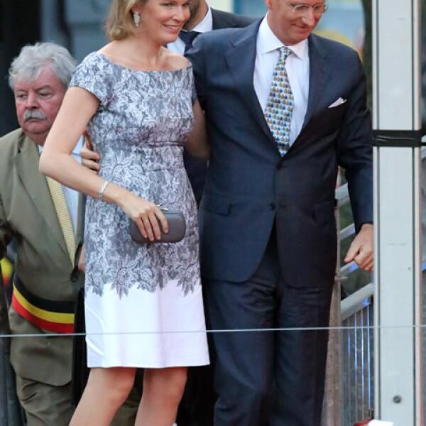 El 21 de julio de 2013 Mathilde y Felipe se convirtieron en los Reyes de los belgas.
