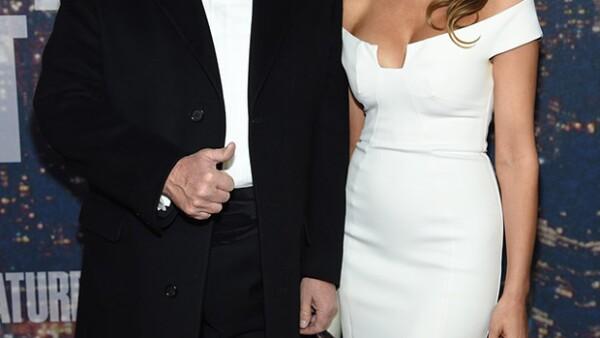 La pareja se casó en 2005 y tienen un hijo en común de 9 años.