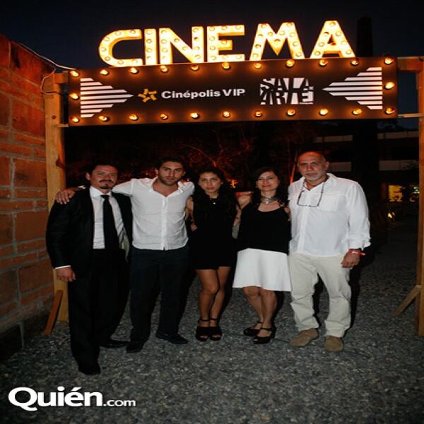 Jorge A. Jiménez,Santiago Arriaga,Mariana Arriaga,Maru Arriaga,Guillermo Arriaga