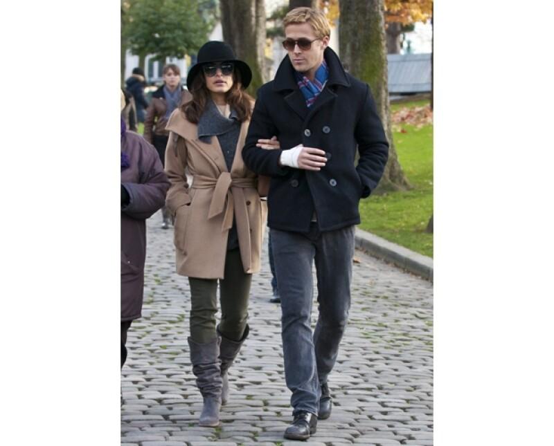 Eva Mendes y Ryan Gosling parecen haber llevado su relación a un punto crítico.
