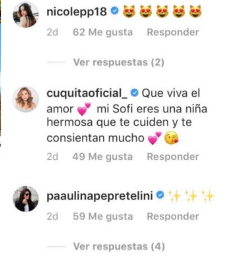 Nicole y Paulina Peña