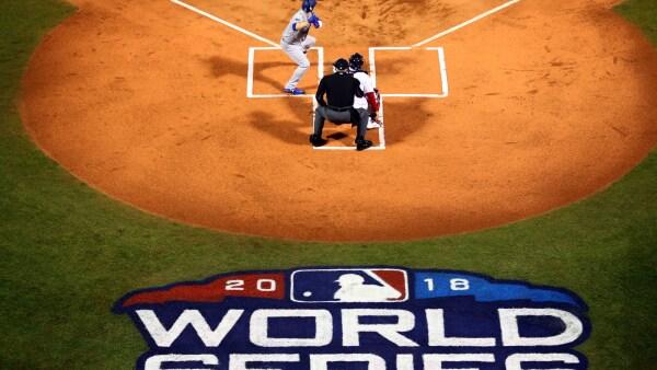 Las mejores fotos del primer juego de la Serie Mundial