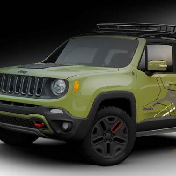Equipado por Mopar, este vehículo destaca por su espíritu aventurero y aspecto enérgico.