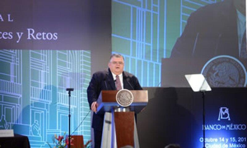 Carstens afirmó que el Banxico no financiará déficits del Gobierno mexicano. (Foto: Notimex)