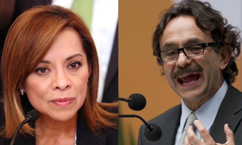 Vázquez Mota y Gabriel Quadri de la Torre escucharon, por separado, la propuesta en materia de educación de la ANUIES. (Foto: AP)