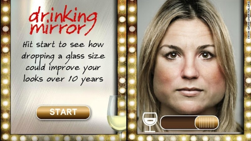 drinking mirror app