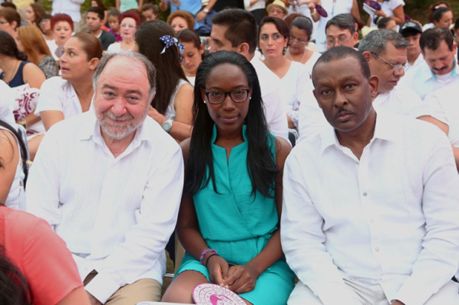 Eduard Malayán, Laetita Kowanaf y Guy Lamothe