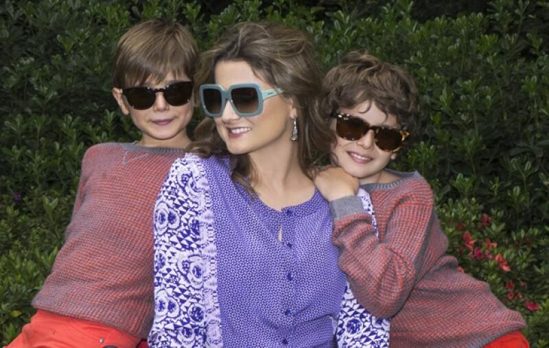 Sunglass Hut organizó una divertida dinámica con la guapa Natalia Dávila y sus 3 hijos Pedro, Felipe y Cayetana en donde comprobamos que mamá es nuestra principal fuente de inspiración de estilo.